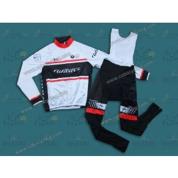 2013 Team Wilier White Thermal Long Cycling Jersey And Bib Pants