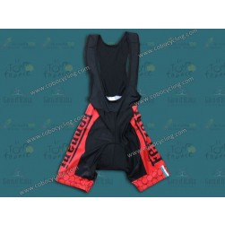 2013 Team Ferrari Red Cycling Bib Shorts