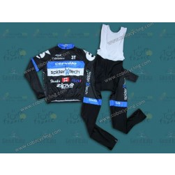 2013 Cervelo Spider Tech Long Sleeve Cycling Jersey And Bib Pants Set