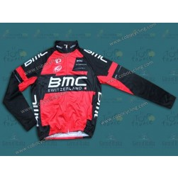 2014 Team BMC Thermal Long Sleeve Cycling Jersey