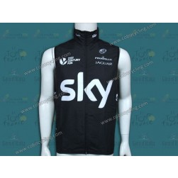 2014 Skу Professional Team Cycling Wind Vest