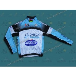 2013 Omega Pharma - Quickstep Thermal Cycling Long Sleeve Jersey