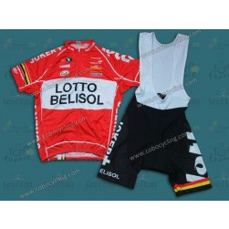 2014 Team Lotto Cycling Jersey And Bib Shorts