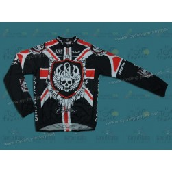 Rоck Rаcing London Team Cycling Long Sleeve Jersey