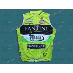 2013 Farnese Vini-Selle Fluorescent Cycling Vest/Sleeveless Jersey