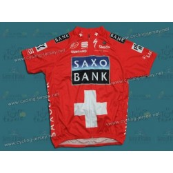 2010 Saxo Bank Swiss Champion Cycling Jersey