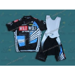 2013 TREK WildWolf ARG Champion Cycling Jersey And Bib Shorts