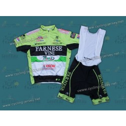 2012 Farnese - Vini Cycling Jersey and Bib Shorts Set