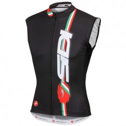 2015 Cаstelli Sidi Dino Black Cycling Vest/Sleeveless Jersey