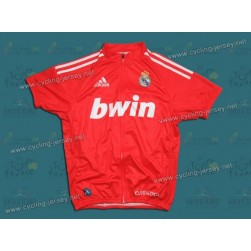 2011 TEAM REAL MADRID RED Cycling Jersey