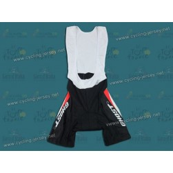 2011 GHOST Black and White Cycling Bib Shorts