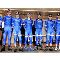 2014 FDJ Fr Blue Team Cycling Jersey And Bib Shorts