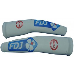 2012 Francaise des Jeux White Team Cycling Arm Warmer