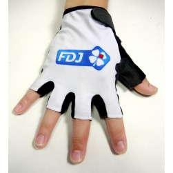 2015 Team FDJ White Cycling Glove