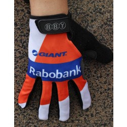 2014 Team Rabobank Thermal long Cycling Gloves