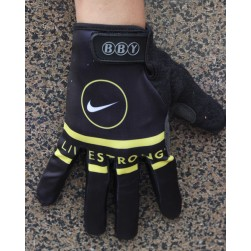 2013 Livestrong Black Thermal long Cycling Gloves