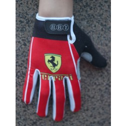 Team Ferrari Thermal long Cycling Gloves