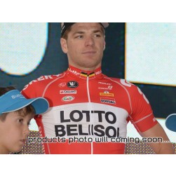 2014 Team  Lotto - Belisol Cycling Jersey And Bib Shorts