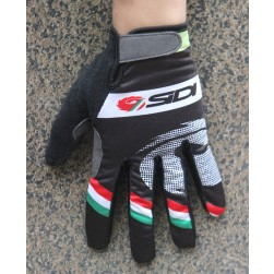 2016 Sidi Pippo Fluo Black Thermal Cycling Gloves