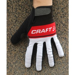 2016 Craft Black/Red Thermal Cycling Gloves