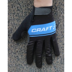 2016 Craft Black/Blue Thermal Cycling Gloves