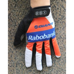 2016 Rabobank Orange Thermal Cycling Gloves
