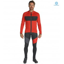 2019 Scott RC FF Red Thermal Cycling Jersey And Bib Pants Set