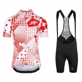 2020 Asos Erlkoenig Red Cycling Jersey And Bib Shorts Set