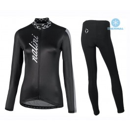 2020 Nalini MCL Black Thermal Cycling Jersey And Bib Pants Set