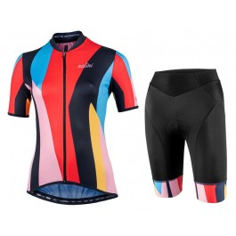 2021 Nalini Turin 06 Women Color Cycling Jersey And Shorts Set