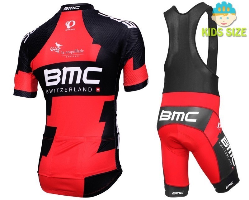 Genuine BMC Cycling Kit Jersey Bib Knicks New Youth Large And Small