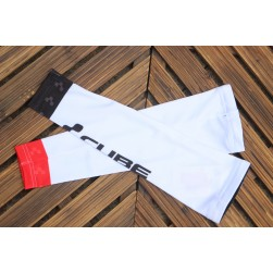 2017 Cube White Cycling Arm Warmer