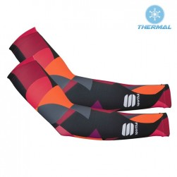 2017 Spоrtful Primavera Red Thermal Cycling Arm Warmer