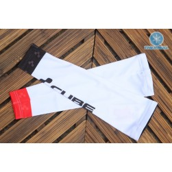 2017 Cube White Thermal Cycling Arm Warmer