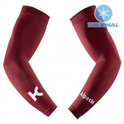 2017 Katusha Red Thermal Cycling Arm Warmer