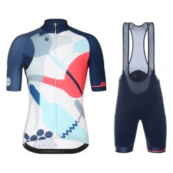 2018 Santini Tour Down Under 20 Years Cycling Jersey And Bib Shorts Set