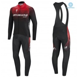 2018 SPED SL TEAM EXPERT Thermal Cycling Jersey And Bib Pants Set