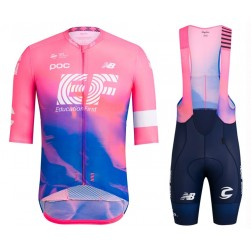 2019 Rapha EF Education Pink Cycling Jersey And Bib Shorts Set