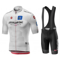 2019 Giro D'Italy Maglia Bianca Cycling Jersey And Bib Shorts Set