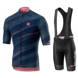 2019 Giro D'Italy Gavia Mortirolo Cycling Jersey And Bib Shorts Set