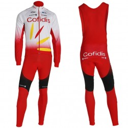 2019 Cofids Long Sleeve Cycling Jersey And Bib Pants Set