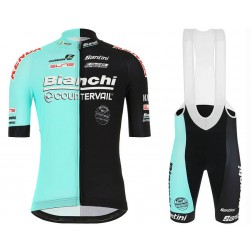 2020 Bianchi Countervail Team Cycling Jersey And Bib Shorts Set