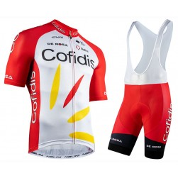 2020 Cofidis Team Cycling Jersey And Bib Shorts Set