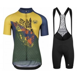2020 Asos Fastlane Wyndymilla Monarch Cycling Jersey And Bib Shorts Set