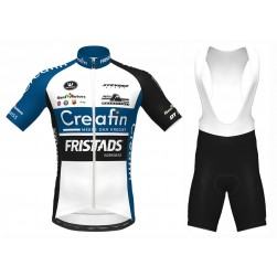 2020 Creafin Fristads Cycling Jersey And Bib Shorts Set