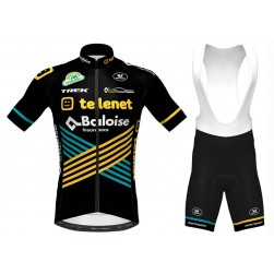 2020 Team TELENET Cycling Jersey And Bib Shorts Set