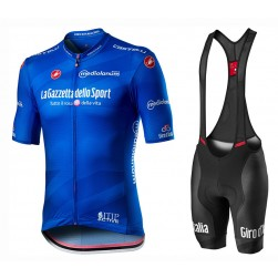 2020 GIRO D'ITALIA Maglia Azzura Cycling Jersey And Bib Shorts Set