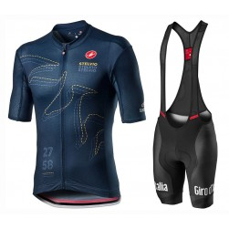2020 GIRO D'ITALIA Stelvio Cycling Jersey And Bib Shorts Set