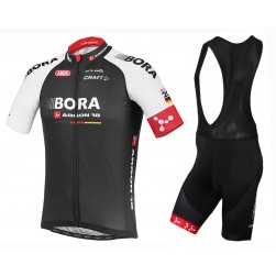 2016 Bora Argon 18 TDF Edition Cycling Jersey And Bib Shorts Set