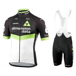 2017 Team Dimension Date Cycling Jersey And Bib Shorts Set